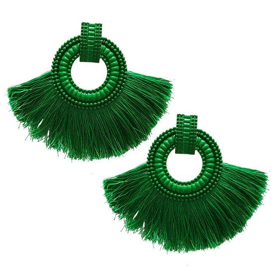 Fiesta Earrings Green