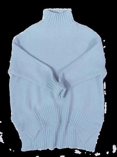 Sasha Knit Powder Blue