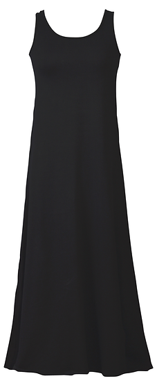 Essential Jersey Dress Black
