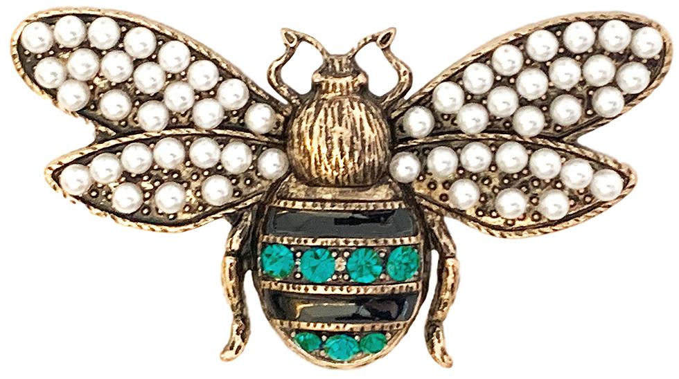 Bug Brooch #1 Green