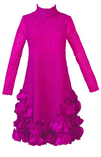 Puff Dress Pink
