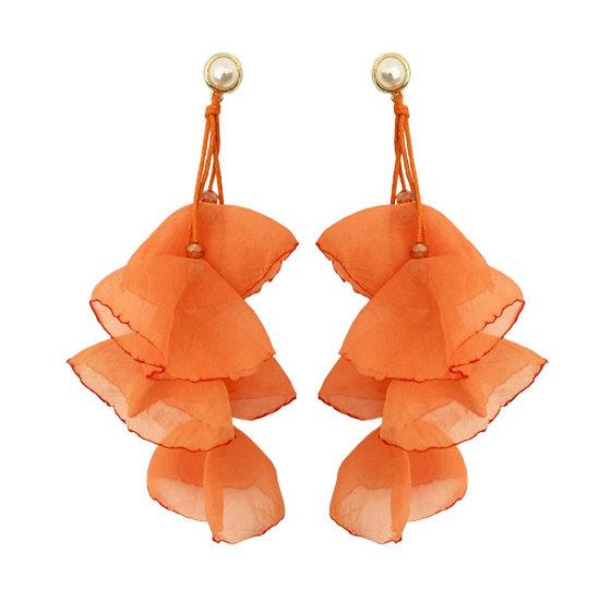 Delilah Earrings Orange