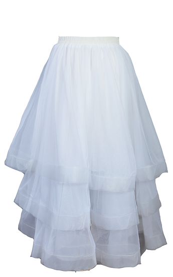 Kerfuffle Skirt White