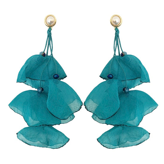 Delilah Earrings Teal