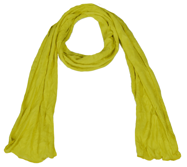 Crush Scarf Chartreuse