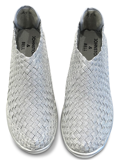 Elastica Shoes Silver