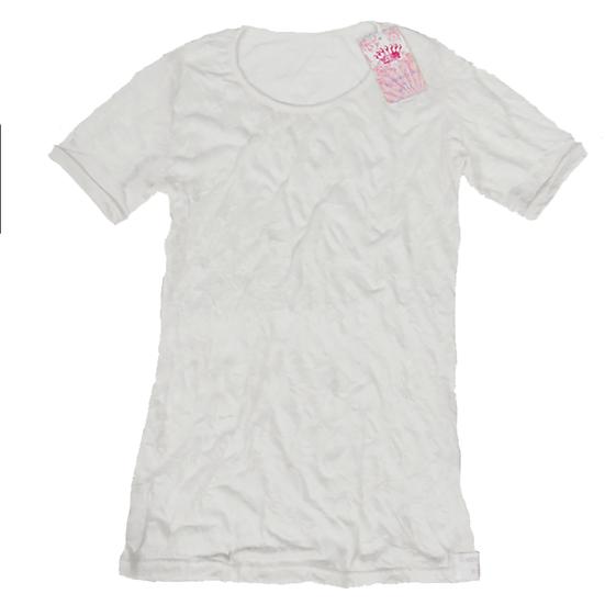 Crush Tee White/Short Sleeves
