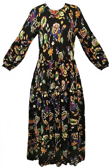 Woodstock Dress Black
