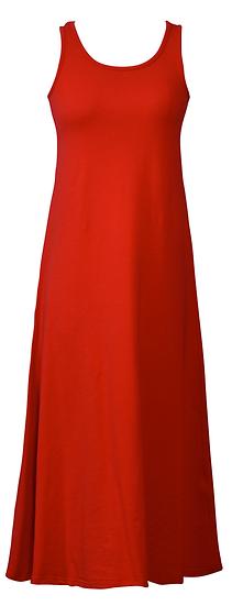 Essential Jersey Dress Red