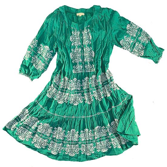Barbarella Dress Emerald