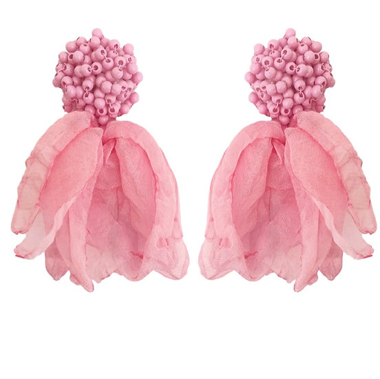Isadora Earrings Pink