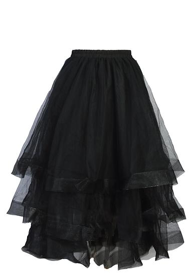 Kerfuffle Skirt Black