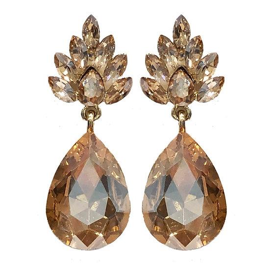 Champagne Earrings Gold