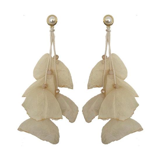 Delilah Earrings Cream