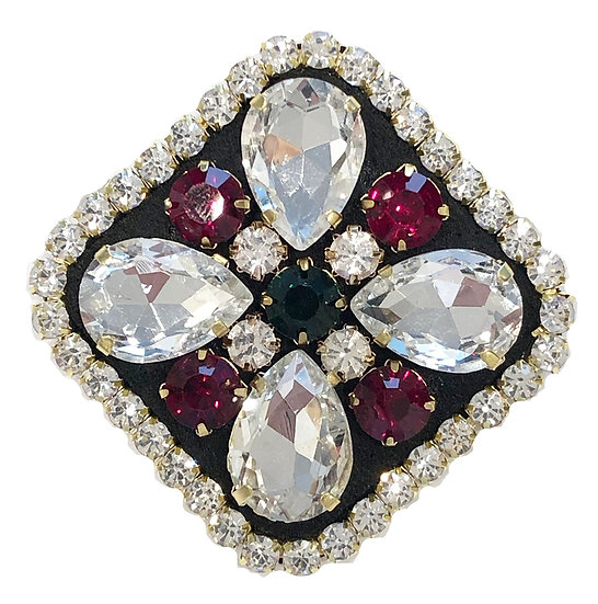 Diamanté Brooch-1