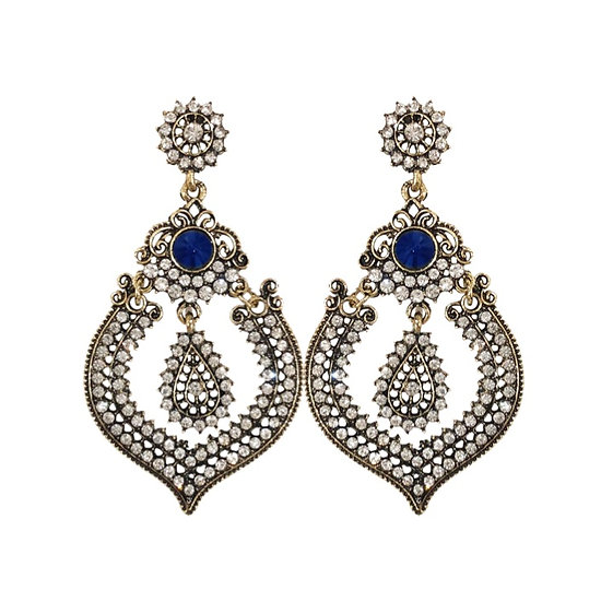 Costume Sapphire Earrings