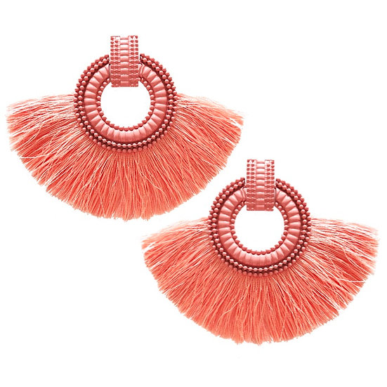 Fiesta Earrings Blush