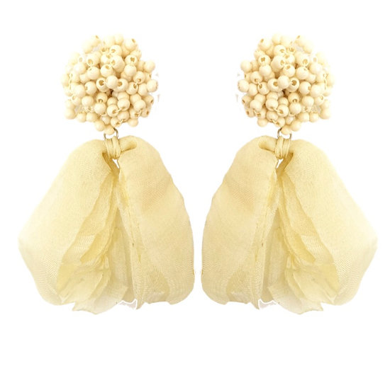 Isadora Earrings Cream