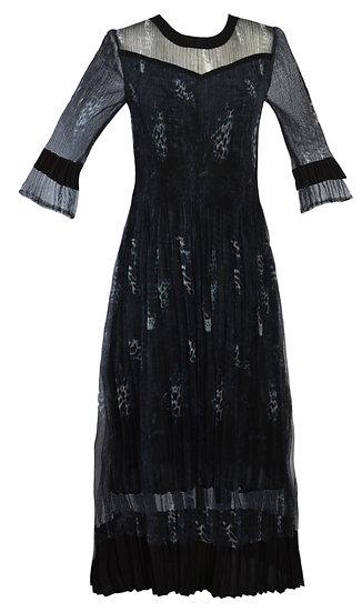 Smudge Dress Black