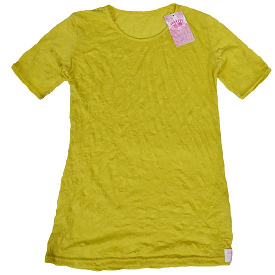 Crush Tee Chartreuse/Short Sleeves