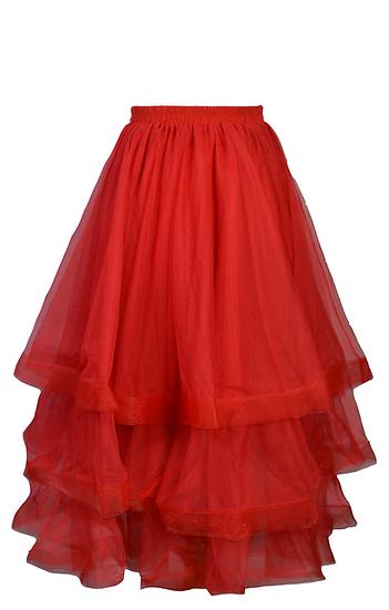 Kerfuffle Skirt Red