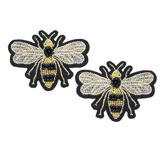 Bumble Bee Shoe Clips
