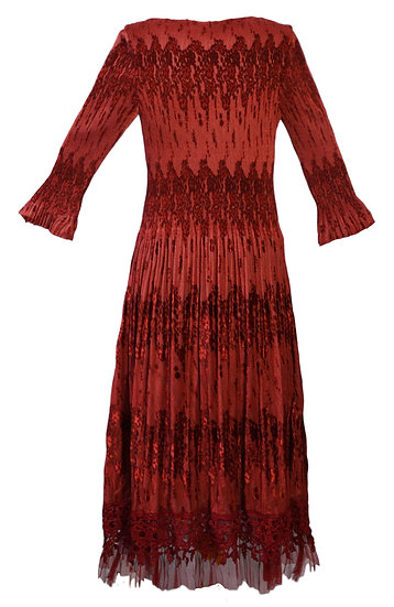 Tivoli Dress Burgundy