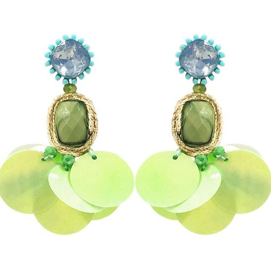 Gelato Earrings Green