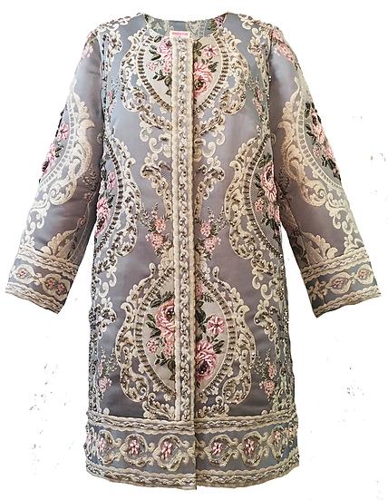 Regal Coat - Versailles Blue