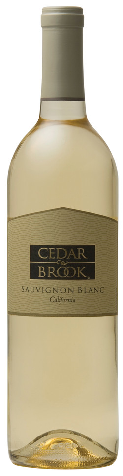 Cedar Brook Sauv Blanc bottle