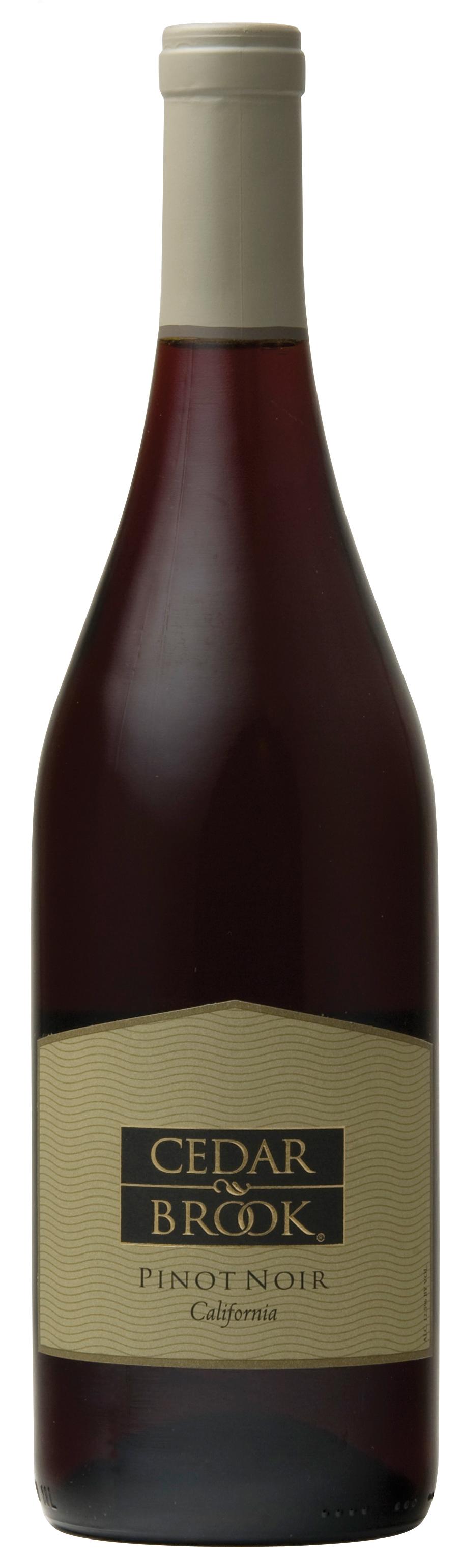 Cedar Brook Pinot Noir bottle