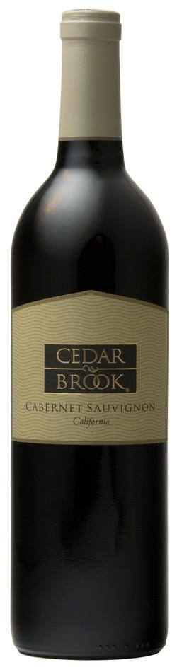 Cedar Brook Cabernet bottle