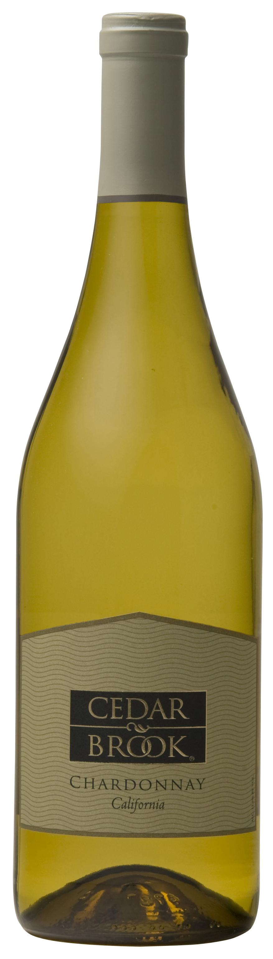 Cedar Brook Chardonnay bottle