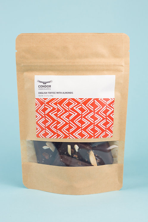 English Toffee + Almonds
