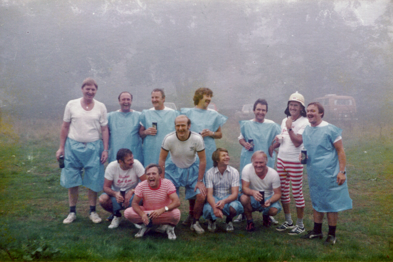 Ausfahrt Alte Herren 1982