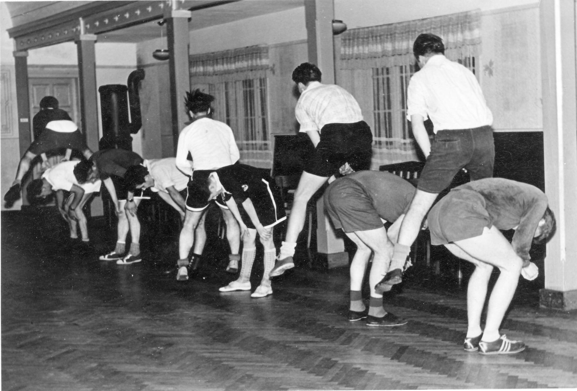 1.herren Training 1957