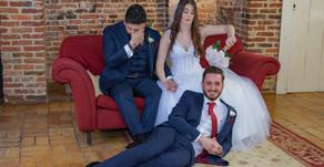 Courtney & Flynn's Leez Priory Wedding