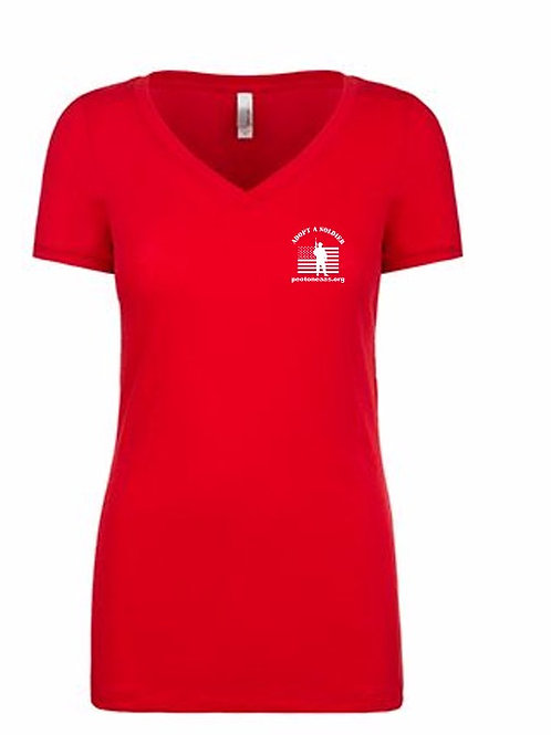 Red Friday Ladies short sleeve t-shirt