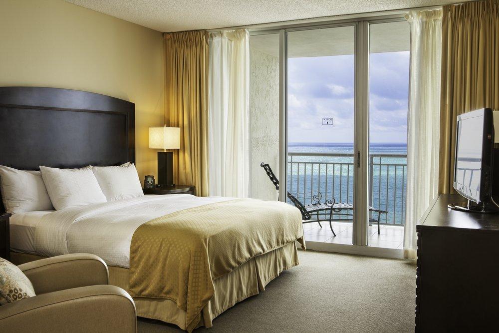 2 Bedroom Suite Master Bedroom King bed