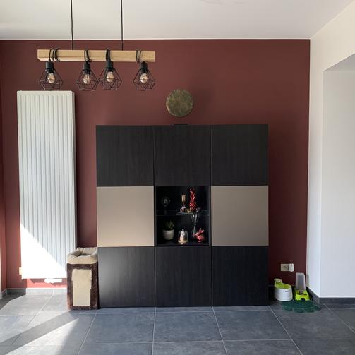 Mise en peinture d'une cuisine (Après)