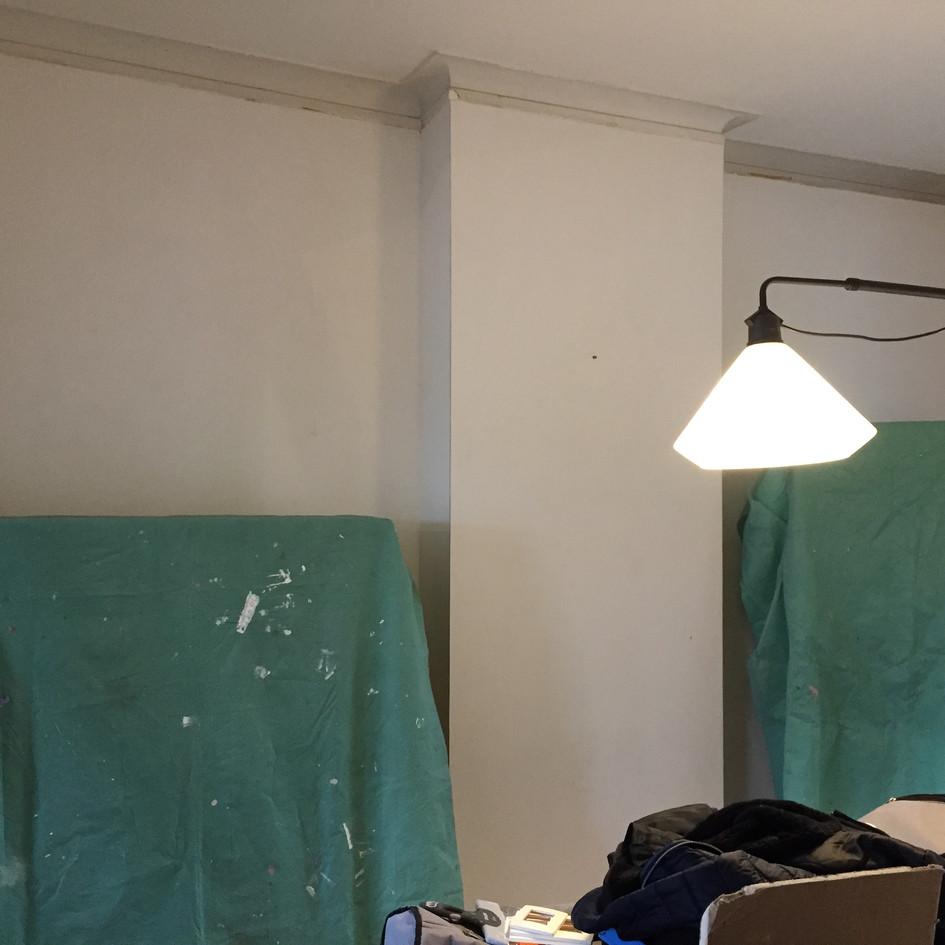 Mise en peinture de murs et plafonds