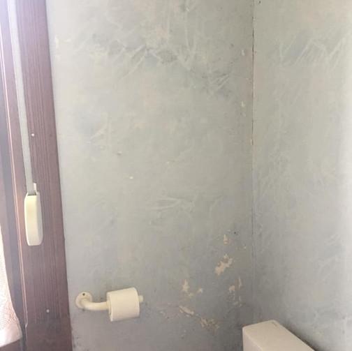 Projet de A à Z : Tapissage Vario Vlies, mise en peinture, rénovation et mise en peinture d'un ancien parquet, conseils déco / Avant