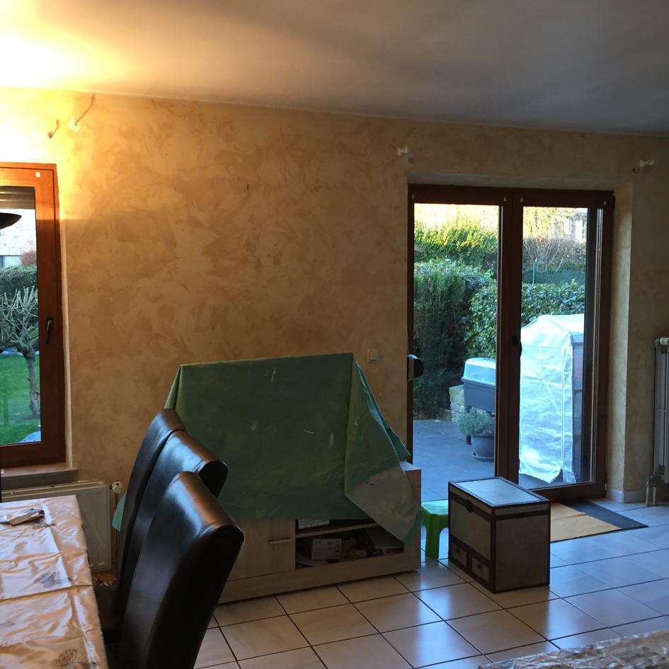 Mise en peinture des murs et plafond