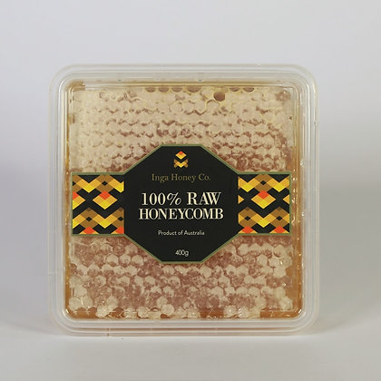 100% Raw Honeycomb - 400g