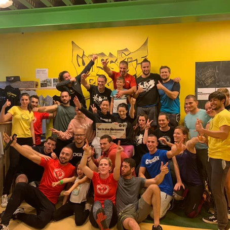 Compétition CrossFit Fontainebleau octobre 2019
