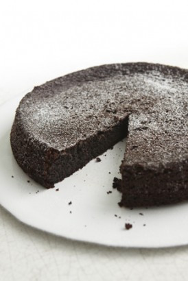 Cake without flour