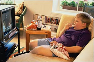 Screen time, fat time and parenting