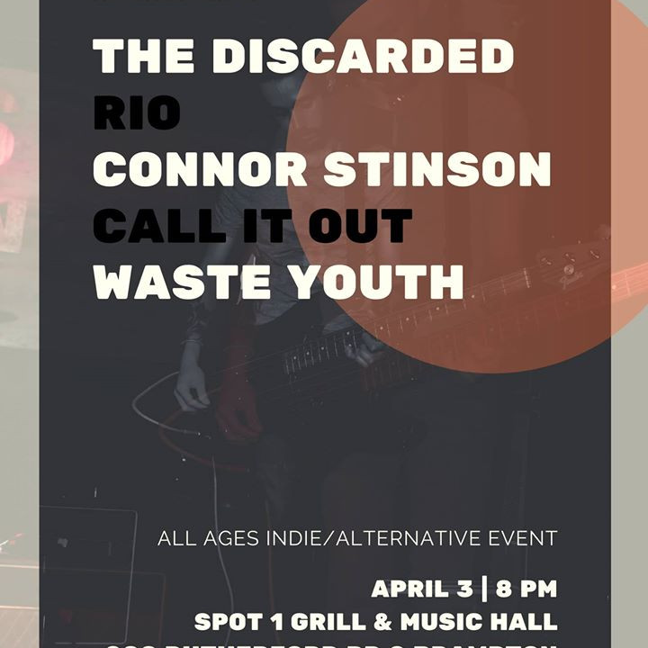 Coin Record Presents THE DISCARDED RIO CONNOR STINSON CALL IT OUT WASTE YOUTH