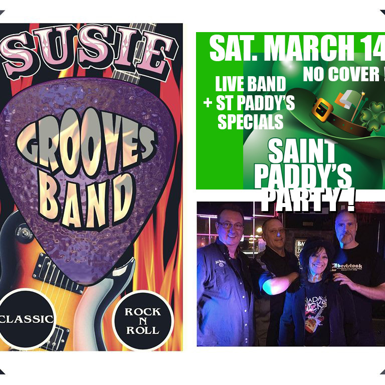 SUSIE GROOVES BAND plus some IRISH CLASSICS by DJ Wolfie