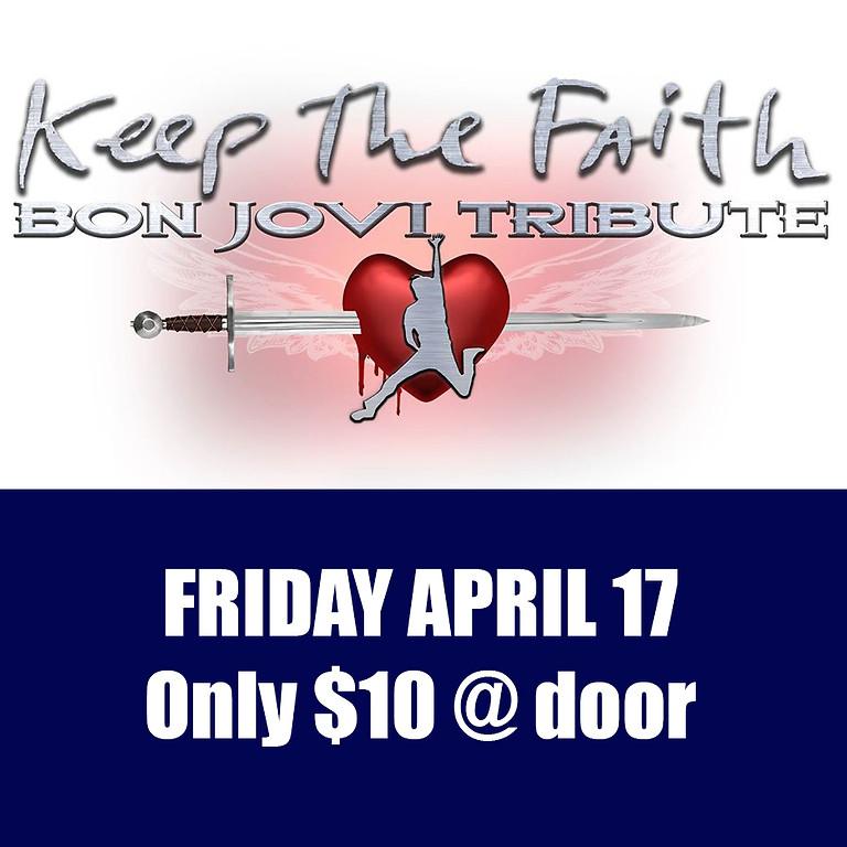 "BON JOVI Tribute show ""KEEP THE FAITH"""